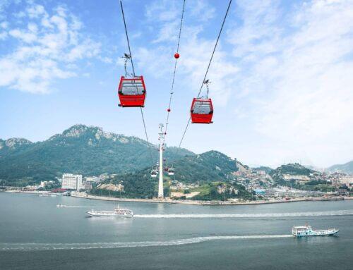 Mokpo: Die höchste Seilbahn Südkoreas