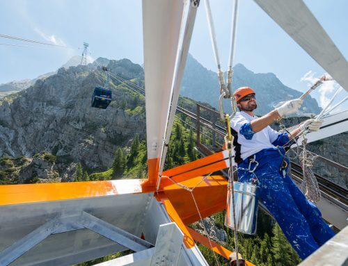 """Industrie-Kletterer Ludwig Dengg: ,,Auf das Netzwerk kommt es an!"""""""