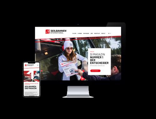 Neue SI Webseite online