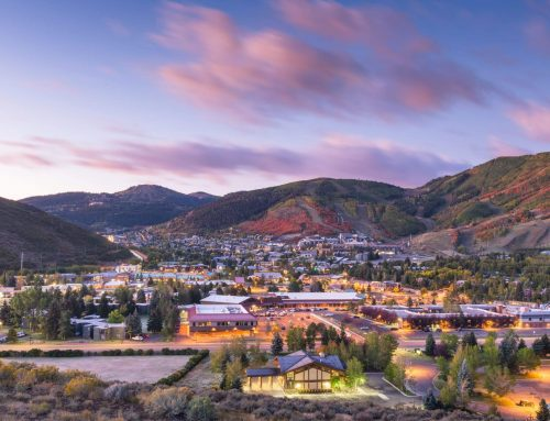 Seilbahnnetz für Park City (Utah)