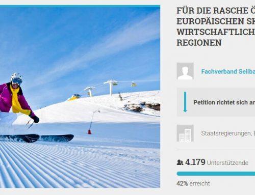 Petition für europaweite Öffnung von Skigebieten