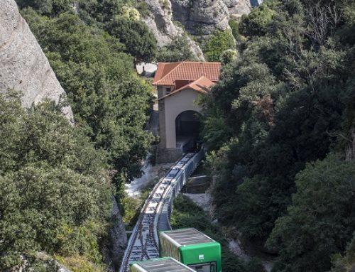 MONTSERRAT: In der modernisierten Pilgerbahn zur Kapelle Santa Cova