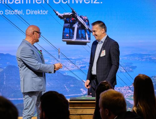 Seilbahnen Schweiz gewinnt den deutschen «Oscar» der Eventbranche