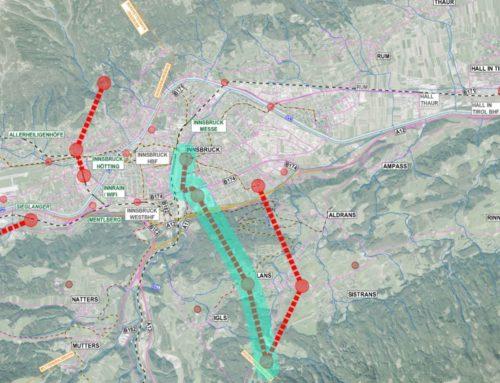 Seilbahn-Studie für Großraum Innsbruck