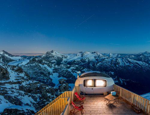 Sleep on the peak – Spektakulär übernachten auf dem Titlis