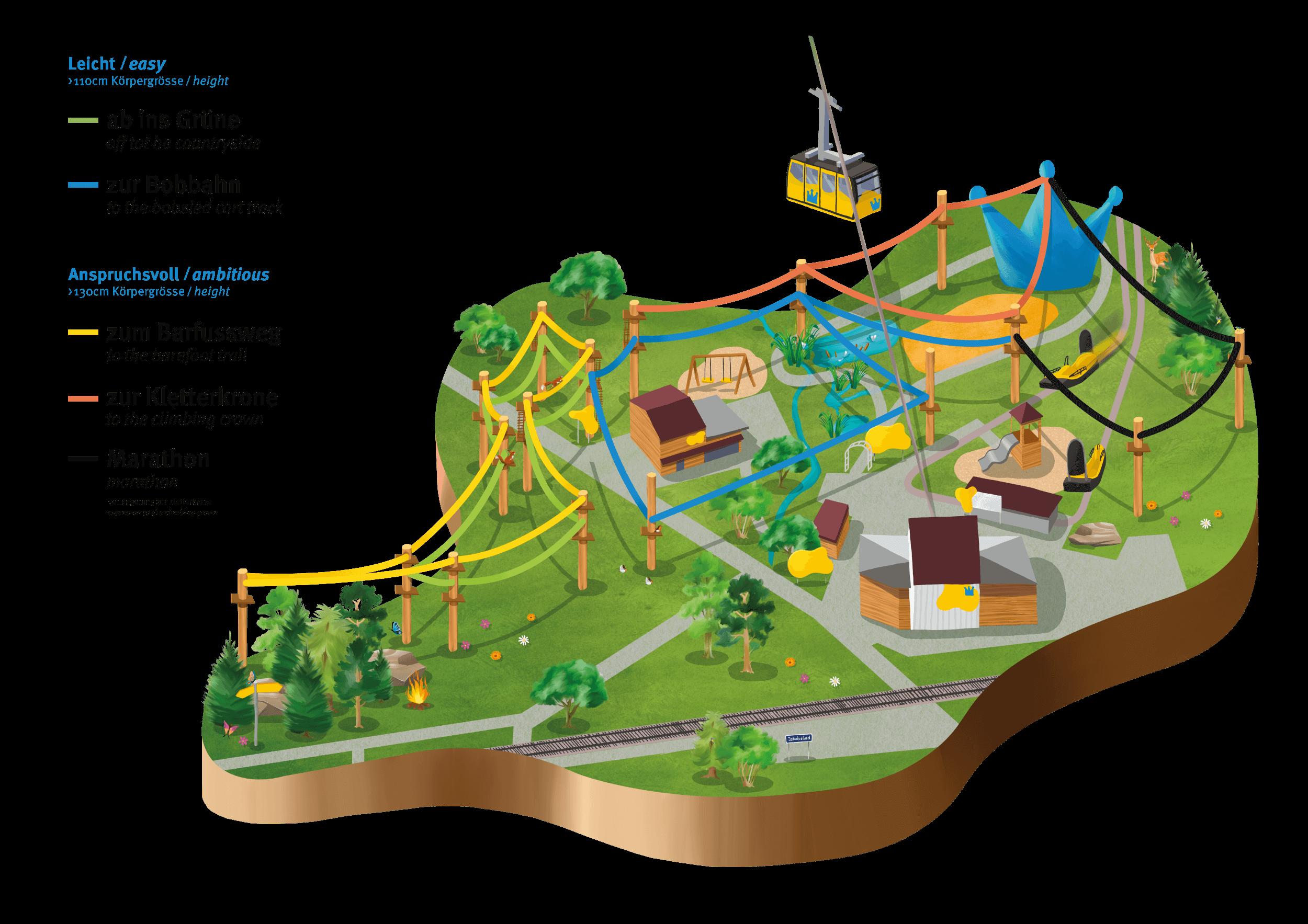 Einzigartiger Schweizer Zipline Park Im Appenzellerland Eroffnet Seilbahnen International