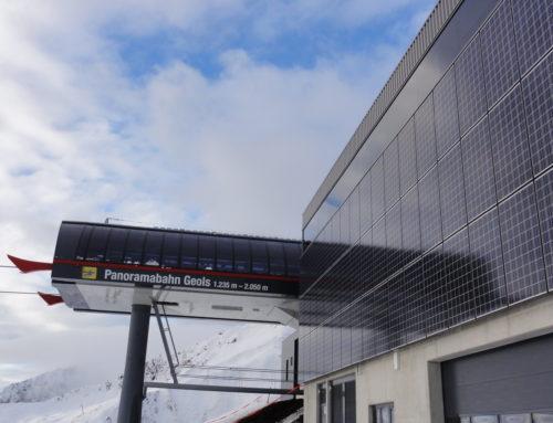 Photovoltaik bei Seilbahnstationen